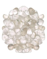 Clear Quartz Tumbled Stones - 1 Pound Bag Mystic Convergence Metaphysical Supplies Metaphysical Supplies, Pagan Jewelry, Witchcraft Supply, New Age Spiritual Store