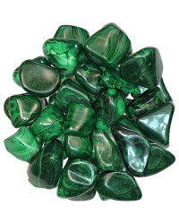 Malachite Tumbled Stones - 1 Pound Pack Mystic Convergence Metaphysical Supplies Metaphysical Supplies, Pagan Jewelry, Witchcraft Supply, New Age Spiritual Store
