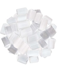 Selenite Tumbled Gemstones 1/2 Pound Pack Mystic Convergence Metaphysical Supplies Metaphysical Supplies, Pagan Jewelry, Witchcraft Supply, New Age Spiritual Store