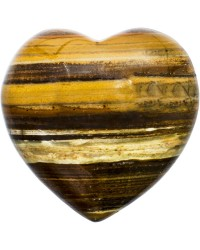 Tiger Eye Heart Stone Mystic Convergence Metaphysical Supplies Metaphysical Supplies, Pagan Jewelry, Witchcraft Supply, New Age Spiritual Store