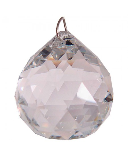 Crystal Prism Faceted Sphere at Mystic Convergence Metaphysical Supplies, Metaphysical Supplies, Pagan Jewelry, Witchcraft Supply, New Age Spiritual Store