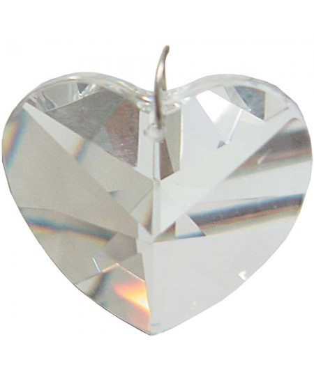 Crystal Prism Faceted Heart at Mystic Convergence Metaphysical Supplies, Metaphysical Supplies, Pagan Jewelry, Witchcraft Supply, New Age Spiritual Store