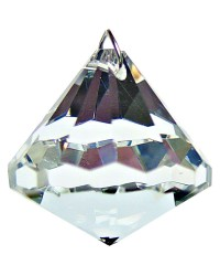 Crystal Prism Faceted Diamond Mystic Convergence Metaphysical Supplies Metaphysical Supplies, Pagan Jewelry, Witchcraft Supply, New Age Spiritual Store