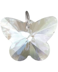 Crystal Prism Faceted Butterfly Mystic Convergence Metaphysical Supplies Metaphysical Supplies, Pagan Jewelry, Witchcraft Supply, New Age Spiritual Store