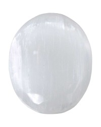 Selenite Worry Stone Mystic Convergence Metaphysical Supplies Metaphysical Supplies, Pagan Jewelry, Witchcraft Supply, New Age Spiritual Store