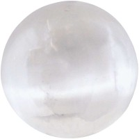 Selenite Gemstone Sphere