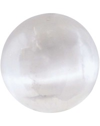 Selenite Gemstone Sphere Mystic Convergence Metaphysical Supplies Metaphysical Supplies, Pagan Jewelry, Witchcraft Supply, New Age Spiritual Store