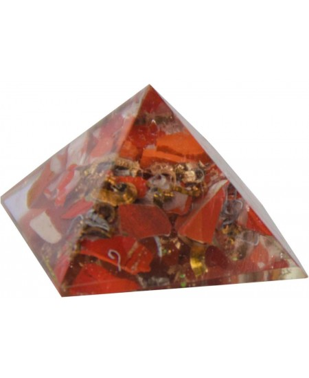 Red Jasper Root Chakra Orgone Pyramid at Mystic Convergence Metaphysical Supplies, Metaphysical Supplies, Pagan Jewelry, Witchcraft Supply, New Age Spiritual Store