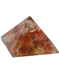 Carnelian Sacral Chakra Orgone Pyramid Mystic Convergence Metaphysical Supplies Metaphysical Supplies, Pagan Jewelry, Witchcraft Supply, New Age Spiritual Store