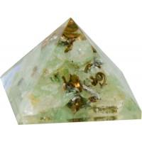 Aventurine Heart Chakra Orgone Pyramid
