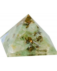 Aventurine Heart Chakra Orgone Pyramid Mystic Convergence Metaphysical Supplies Metaphysical Supplies, Pagan Jewelry, Witchcraft Supply, New Age Spiritual Store