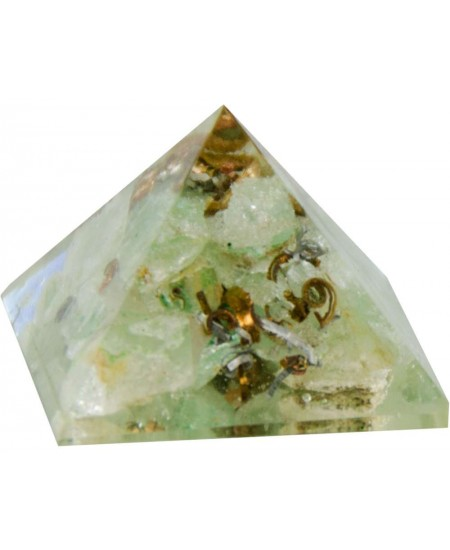 Aventurine Heart Chakra Orgone Pyramid at Mystic Convergence Metaphysical Supplies, Metaphysical Supplies, Pagan Jewelry, Witchcraft Supply, New Age Spiritual Store