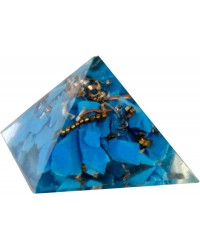 Turquoise Throat Chakra Orgone Pyramid Mystic Convergence Metaphysical Supplies Metaphysical Supplies, Pagan Jewelry, Witchcraft Supply, New Age Spiritual Store