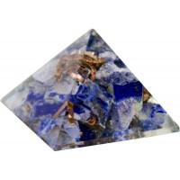Lapis Third Eye Chakra Orgone Pyramid