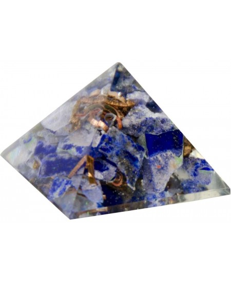 Lapis Third Eye Chakra Orgone Pyramid at Mystic Convergence Metaphysical Supplies, Metaphysical Supplies, Pagan Jewelry, Witchcraft Supply, New Age Spiritual Store