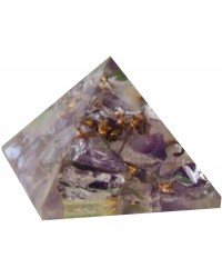 Amethyst Crown Chakra Orgone Pyramid Mystic Convergence Metaphysical Supplies Metaphysical Supplies, Pagan Jewelry, Witchcraft Supply, New Age Spiritual Store
