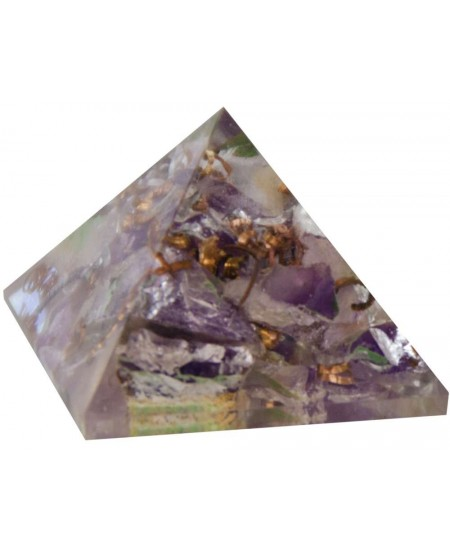 Amethyst Crown Chakra Orgone Pyramid at Mystic Convergence Metaphysical Supplies, Metaphysical Supplies, Pagan Jewelry, Witchcraft Supply, New Age Spiritual Store