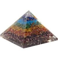 7 Chakras Orgone Pyramid