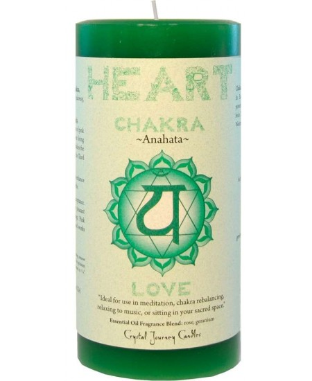 Heart Chakra Green Pillar Candle at Mystic Convergence Metaphysical Supplies, Metaphysical Supplies, Pagan Jewelry, Witchcraft Supply, New Age Spiritual Store