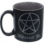 Blessed Be Pentacle Ceramic Mug at Mystic Convergence Metaphysical Supplies, Metaphysical Supplies, Pagan Jewelry, Witchcraft Supply, New Age Spiritual Store