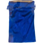 Blue Velvet Lined Pouch at Mystic Convergence Metaphysical Supplies, Metaphysical Supplies, Pagan Jewelry, Witchcraft Supply, New Age Spiritual Store