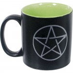 Pentacle Ceramic Mug at Mystic Convergence Metaphysical Supplies, Metaphysical Supplies, Pagan Jewelry, Witchcraft Supply, New Age Spiritual Store