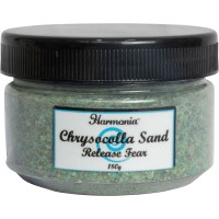 Chrysocolla Gemstone Sand to Release Fear