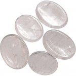Clear Quartz Worry Stone at Mystic Convergence Metaphysical Supplies, Metaphysical Supplies, Pagan Jewelry, Witchcraft Supply, New Age Spiritual Store