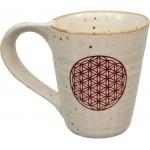 Flower of Life 10 oz Ceramic Mug at Mystic Convergence Metaphysical Supplies, Metaphysical Supplies, Pagan Jewelry, Witchcraft Supply, New Age Spiritual Store