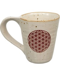 Flower of Life 10 oz Ceramic Mug Mystic Convergence Magical Supplies Wiccan Supplies, Pagan Jewelry, Witchcraft Supplies, New Age Store