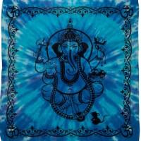 Ganesha Tie Dye Altar Cloth
