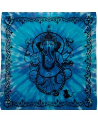 Ganesha Tie Dye Altar Cloth Mystic Convergence Wiccan Supplies, Pagan Jewelry, Witchcraft Supplies, New Age Store