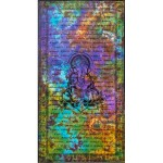 Ganesh Tie Dye Full Size Cotton Tapestry at Mystic Convergence Metaphysical Supplies, Metaphysical Supplies, Pagan Jewelry, Witchcraft Supply, New Age Spiritual Store