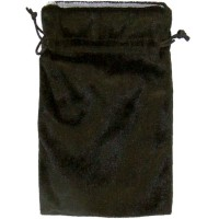 Black Velvet Lined Pouch
