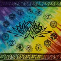 Lotus Chakra Tie Dye Altar Cloth