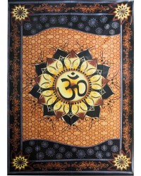 Om Lotus Tapestry Mystic Convergence Metaphysical Supplies Metaphysical Supplies, Pagan Jewelry, Witchcraft Supply, New Age Spiritual Store