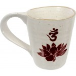 Lotus Om 10 oz Ceramic Mug at Mystic Convergence Metaphysical Supplies, Metaphysical Supplies, Pagan Jewelry, Witchcraft Supply, New Age Spiritual Store