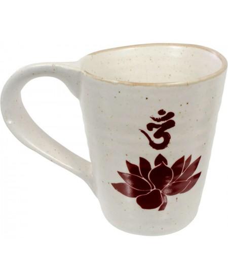 Lotus Om 10 oz Ceramic Mug