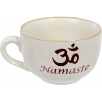 Namaste Om Cappuccino Cup