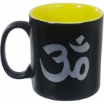 Om Symbol Ceramic Mug at Mystic Convergence Metaphysical Supplies, Metaphysical Supplies, Pagan Jewelry, Witchcraft Supply, New Age Spiritual Store