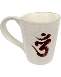 Om Symbol 10 oz Ceramic Mug Mystic Convergence Magical Supplies Wiccan Supplies, Pagan Jewelry, Witchcraft Supplies, New Age Store