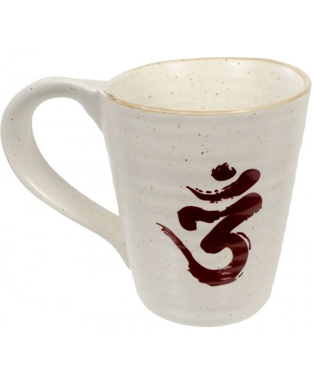 Om Symbol 10 oz Ceramic Mug at Mystic Convergence Metaphysical Supplies, Metaphysical Supplies, Pagan Jewelry, Witchcraft Supply, New Age Spiritual Store