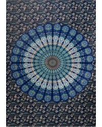 Peacock Mandala Tapestry Mystic Convergence Metaphysical Supplies Metaphysical Supplies, Pagan Jewelry, Witchcraft Supply, New Age Spiritual Store