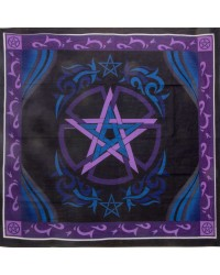 Pentacle Purple Altar Cloth Mystic Convergence Wiccan Supplies, Pagan Jewelry, Witchcraft Supplies, New Age Store