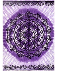 Flower of Life Purple Tapestry Mystic Convergence Metaphysical Supplies Metaphysical Supplies, Pagan Jewelry, Witchcraft Supply, New Age Spiritual Store
