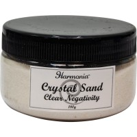 Crystal Clear Quartz Gemstone Sand to Clear Negativity
