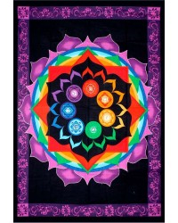 Rainbow Chakra Tapestry Mystic Convergence Metaphysical Supplies Metaphysical Supplies, Pagan Jewelry, Witchcraft Supply, New Age Spiritual Store
