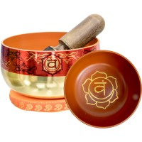 Sacral Chakra Small Singing Bowl Set