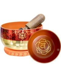 Sacral Chakra Small Singing Bowl Set Mystic Convergence Metaphysical Supplies Metaphysical Supplies, Pagan Jewelry, Witchcraft Supply, New Age Spiritual Store