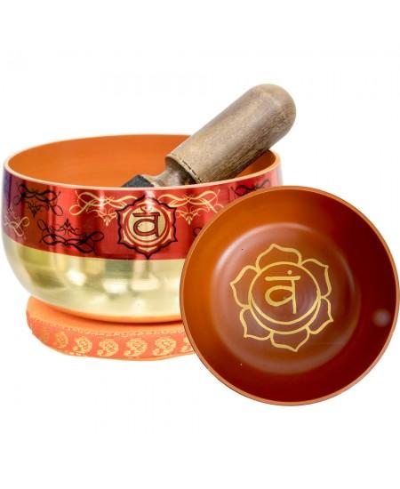 Sacral Chakra Small Singing Bowl Set